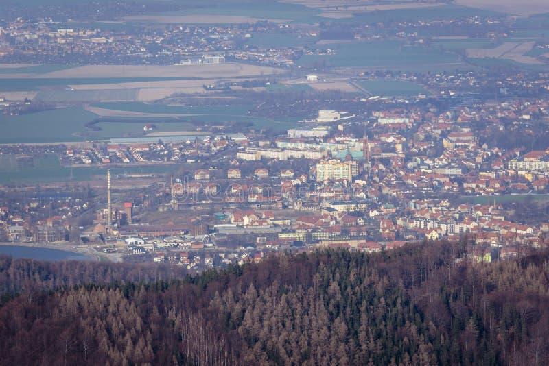 Bielawa in Polonia fotografia stock libera da diritti