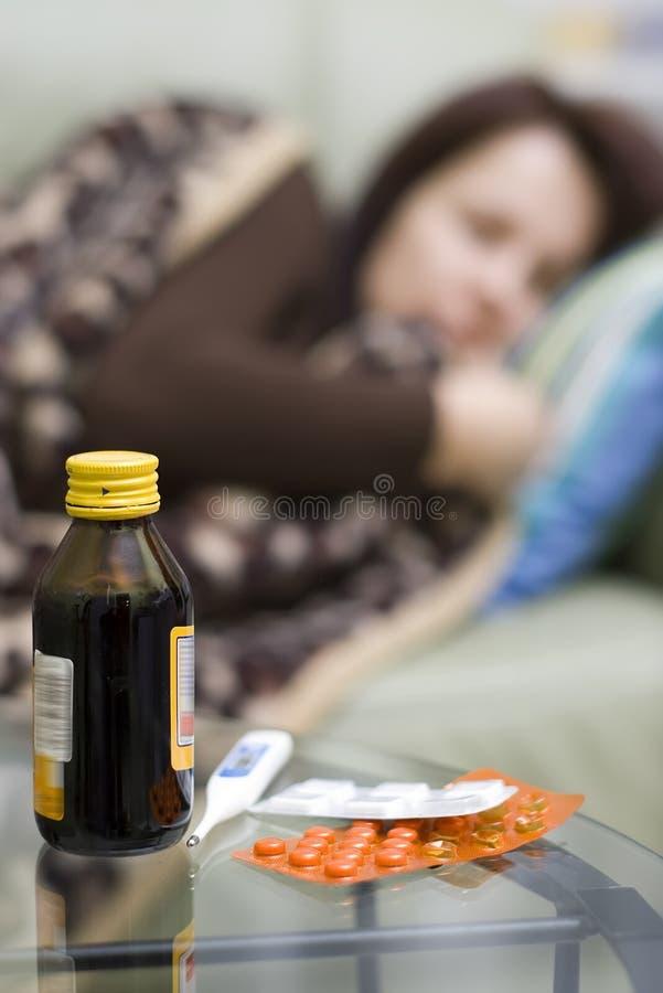 bielizna choroby zdjęcia stock