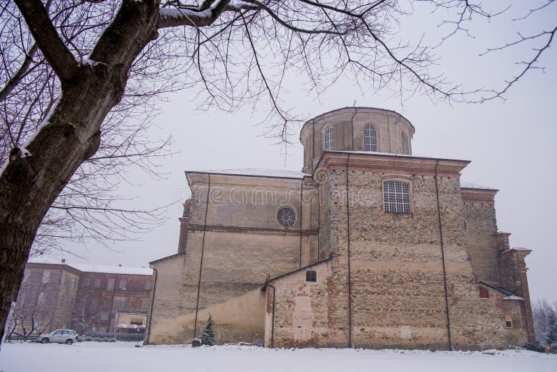 Biella, Piedmont - Italy. Graglia sanctuary founded in the seventeenth century, Biella province, Piedmont, Italy royalty free stock image