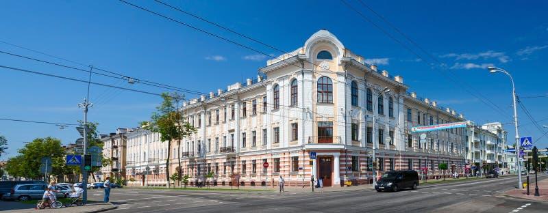 Bielorrusia, Gomel Proyecto del arquitecto S d Shabunevsky foto de archivo libre de regalías