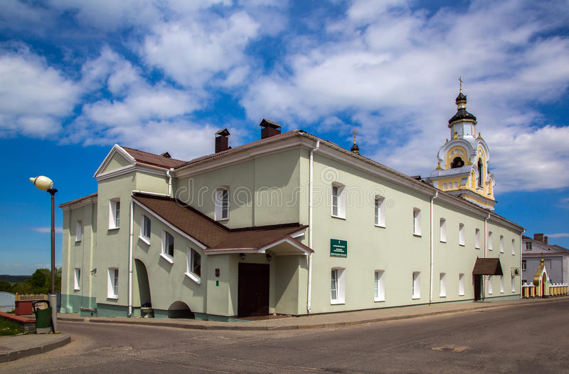 Bielorrusia, Novogrudok, St Nicholas Church foto de archivo