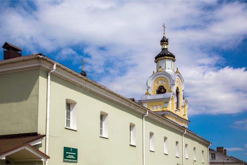 Bielorrusia, Novogrudok, St Nicholas Church imagen de archivo
