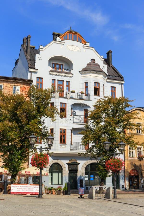 Bielsko Biala, Polonia - 7 settembre 2014 immagini stock