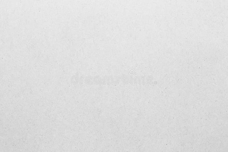 Bielu grunge papieru popielata tekstura obrazy royalty free