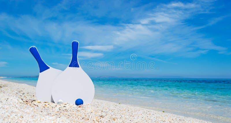 Bielu i błękita plażowi kanty zdjęcie stock