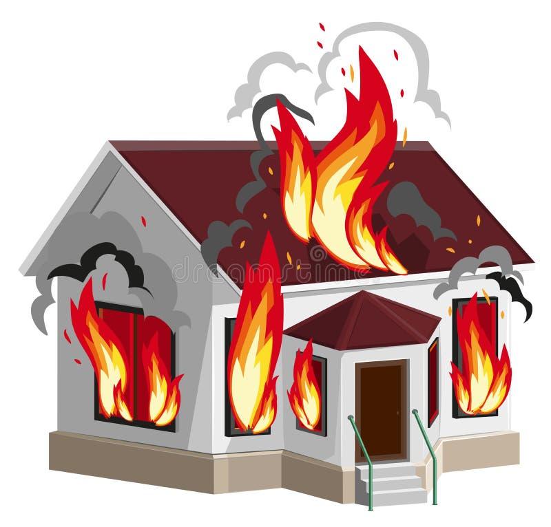 Bielu kamienia domu oparzenie Majątkowy ubezpieczenie przeciw ogieniowi domowy ubezpieczenie