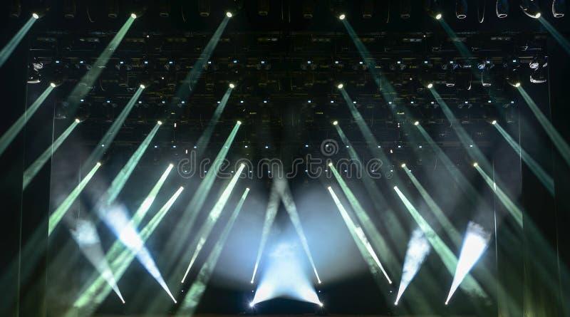 Bielu koncerta światło zdjęcie royalty free