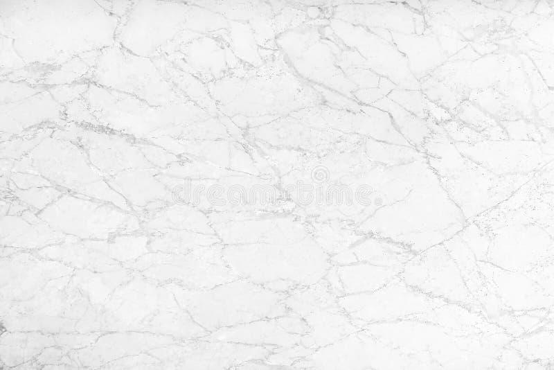 Bielu marmurowy tło z natury czerni linią deseniuje abstrakcjonistycznego tekstury tło zdjęcie stock