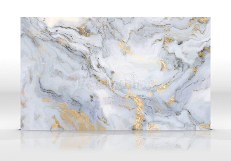 Bielu marmuru p?ytki tekstura obrazy stock