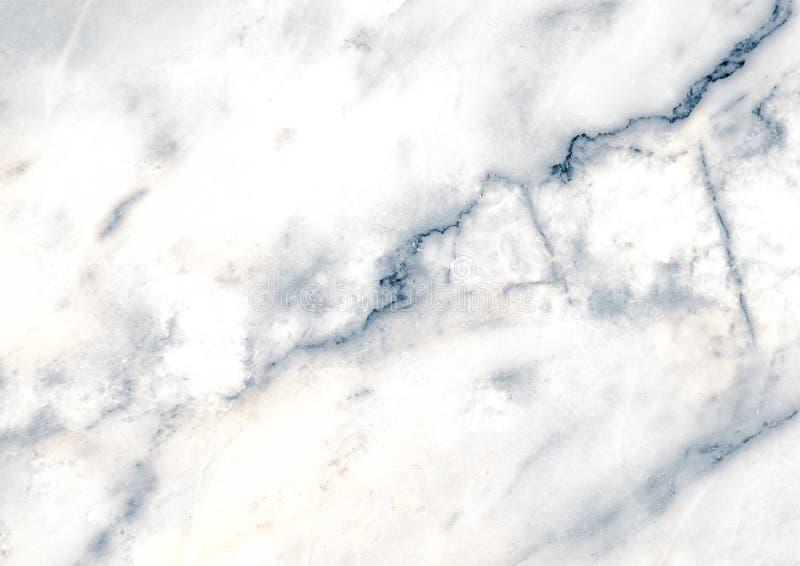 Bielu marmuru wzór z żyłami pożytecznie jako tło lub tekstura, Szczegółowy istny prawdziwy marmur od natury obrazy royalty free