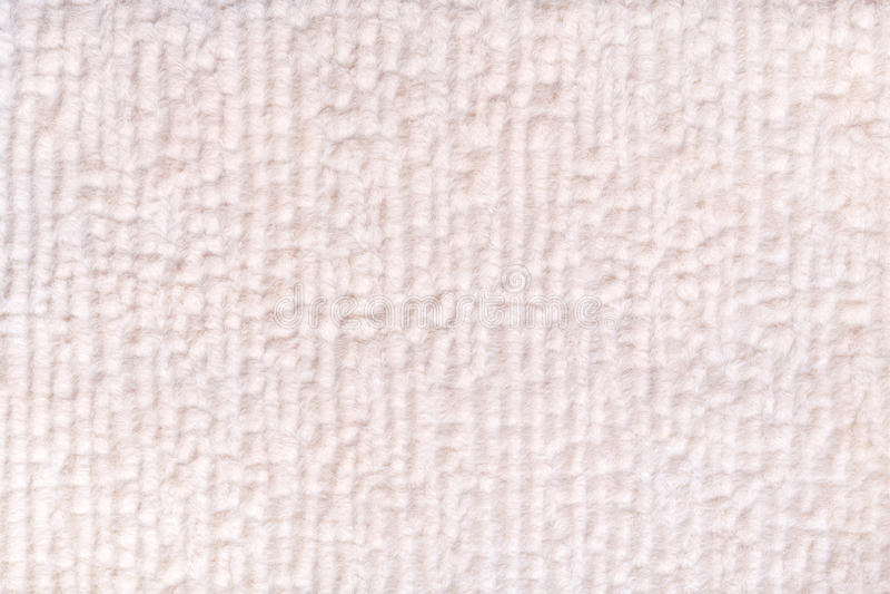 Bielu perełkowy puszysty tło miękka część, wełnisty płótno Tekstura tekstylny zbliżenie zdjęcie royalty free