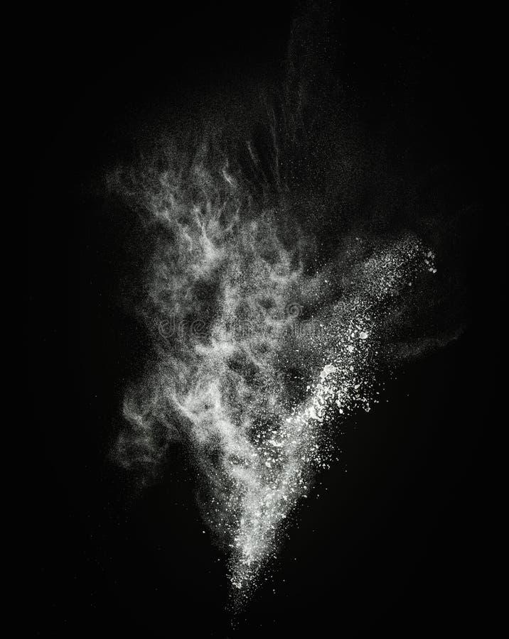 Bielu prochowy wybuch zdjęcie stock