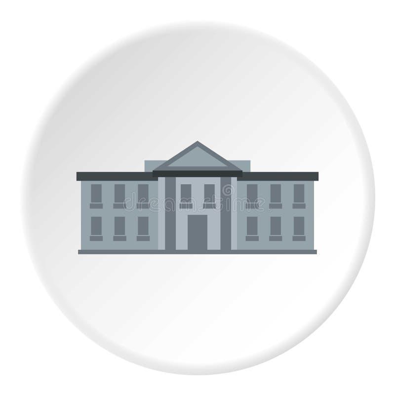Bielu usa domowa ikona, mieszkanie styl ilustracja wektor