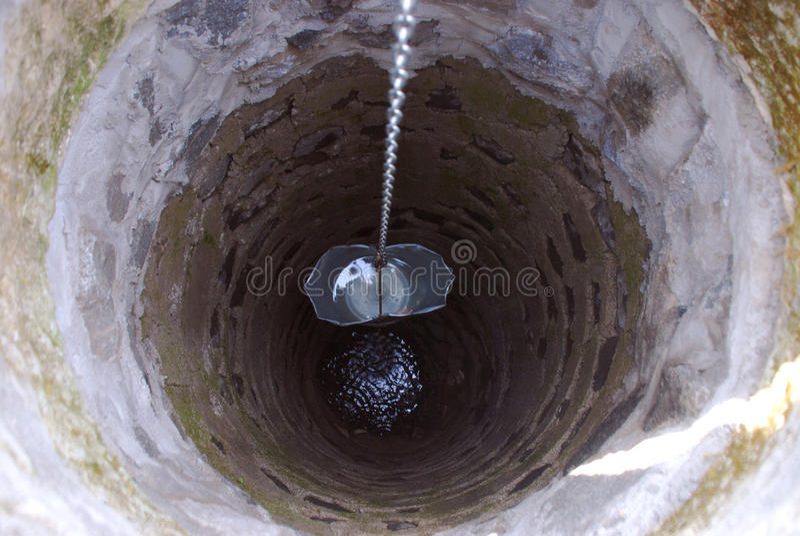 Bien avec de l'eau photographie stock libre de droits