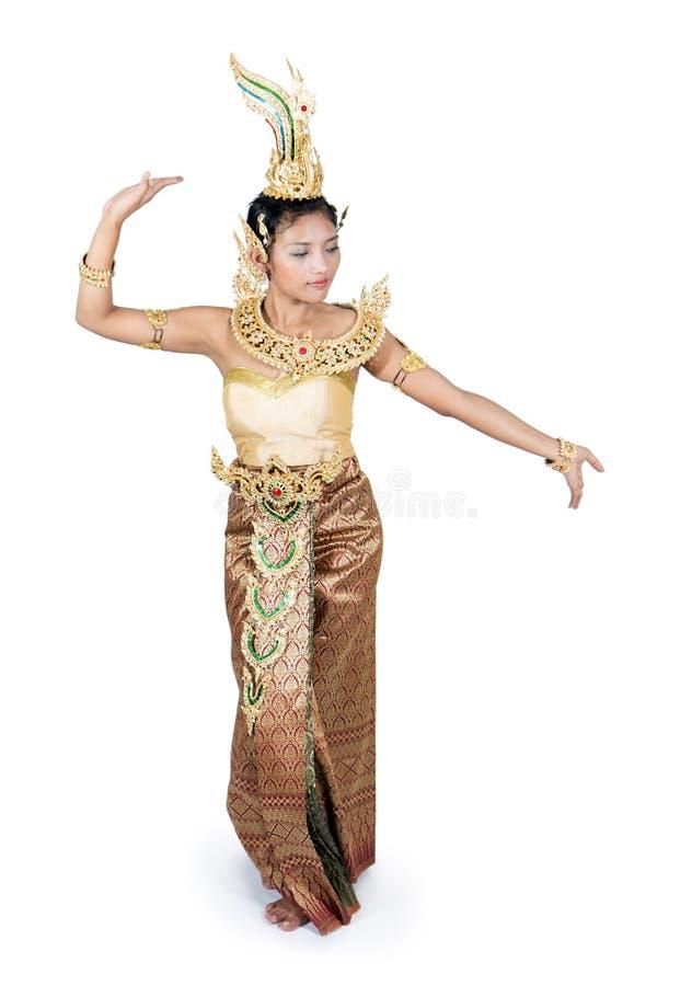 bien dräkten dien den thai traditionella vietnam för den nordliga regionen kvinnan royaltyfria foton