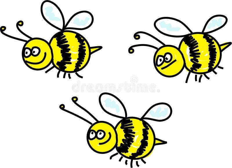 Bienen vektor abbildung