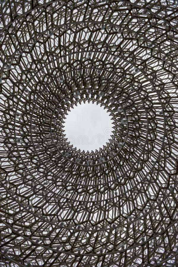 Bienenstock in den Kew-Gärten lizenzfreie stockfotografie