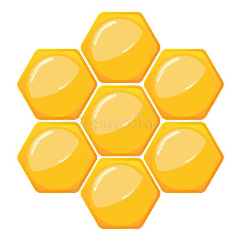 Bienenwabemuster lizenzfreie abbildung