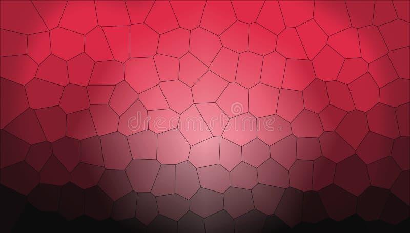 Bienenwaben-struktureller Hintergrund stock abbildung