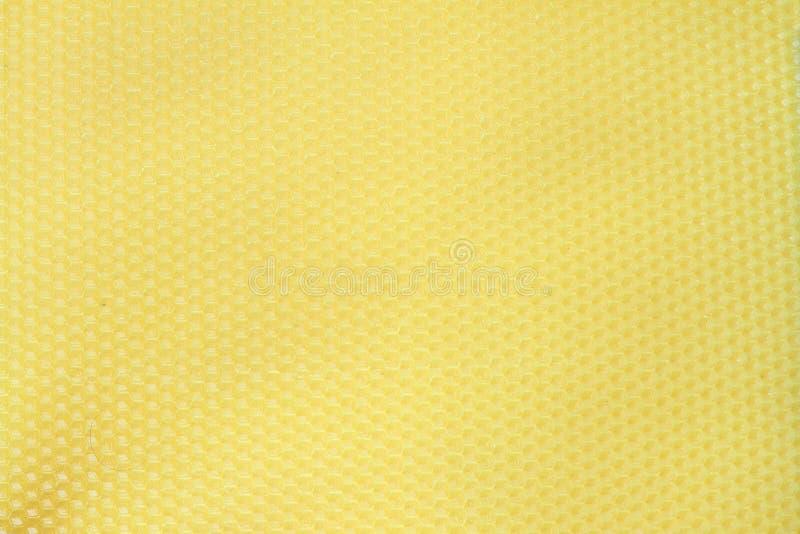 Bienenwachs-Gelbbeschaffenheit lizenzfreie stockfotos