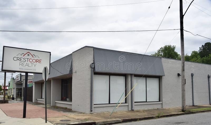 Bienes raices Memphis, TN de Crestcore fotos de archivo libres de regalías