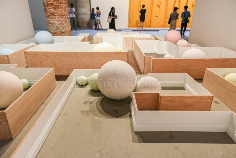 Biennial 2017 de Venecia imagen de archivo