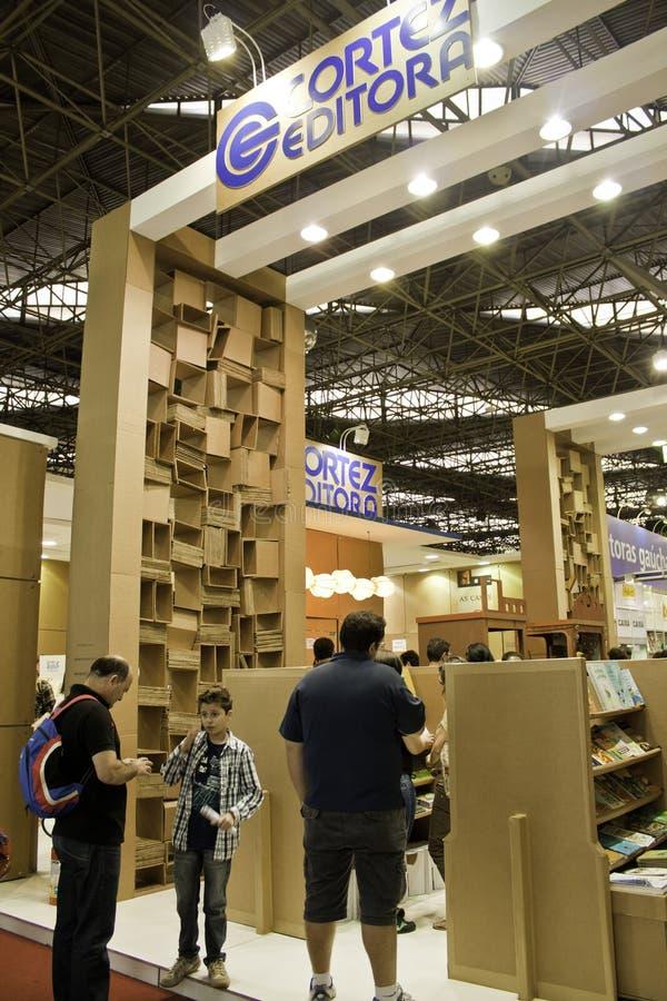 Biennial international de livre de 22 São Paulo - Brésil image libre de droits