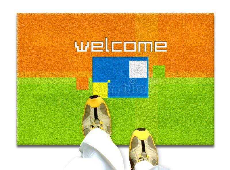 Bienvenue illustration libre de droits
