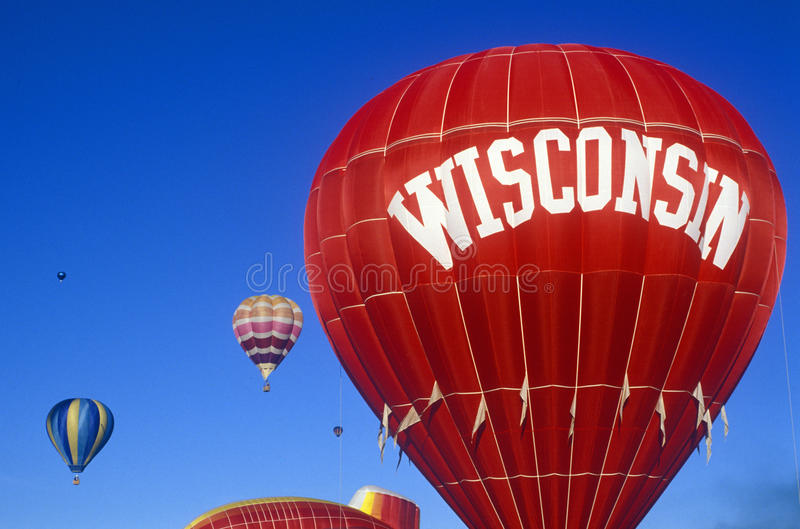 Bienvenue au signe du Wisconsin photos libres de droits