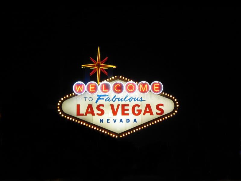 Bienvenue vers Las Vegas photos stock