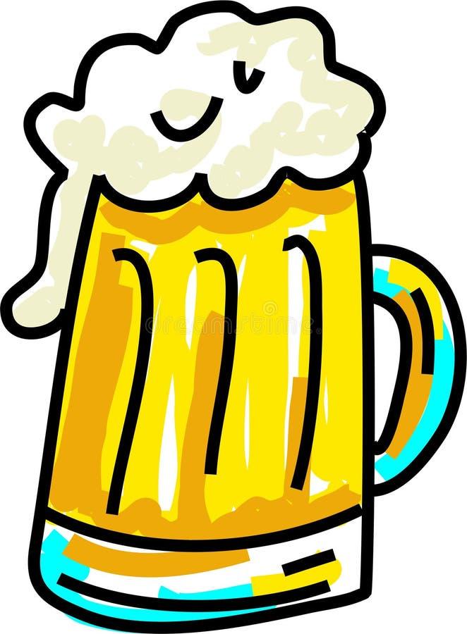 Bier royalty-vrije illustratie