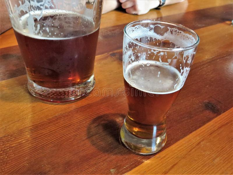 Bier, Austin, Texas royalty-vrije stock fotografie