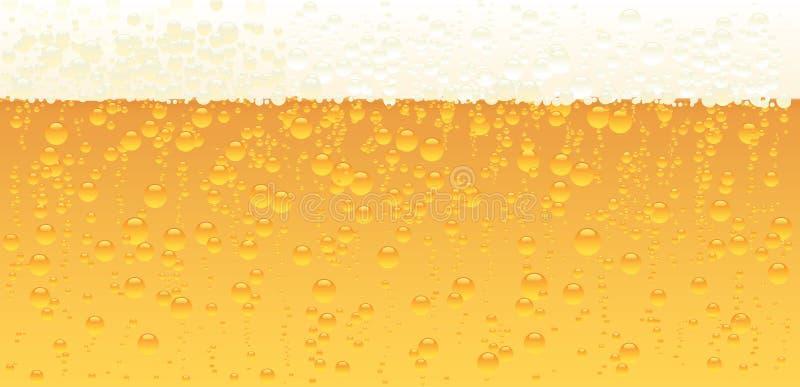 Bier-Beschaffenheit stock abbildung
