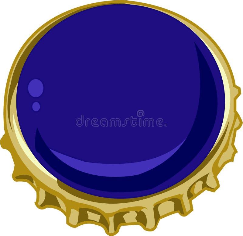 Bier Bottlecap lizenzfreie abbildung