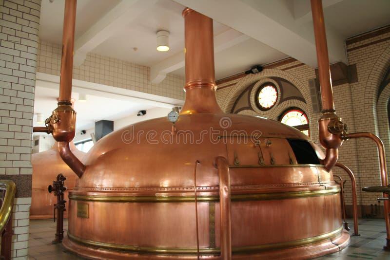 Bier-Brauerei stockfotografie