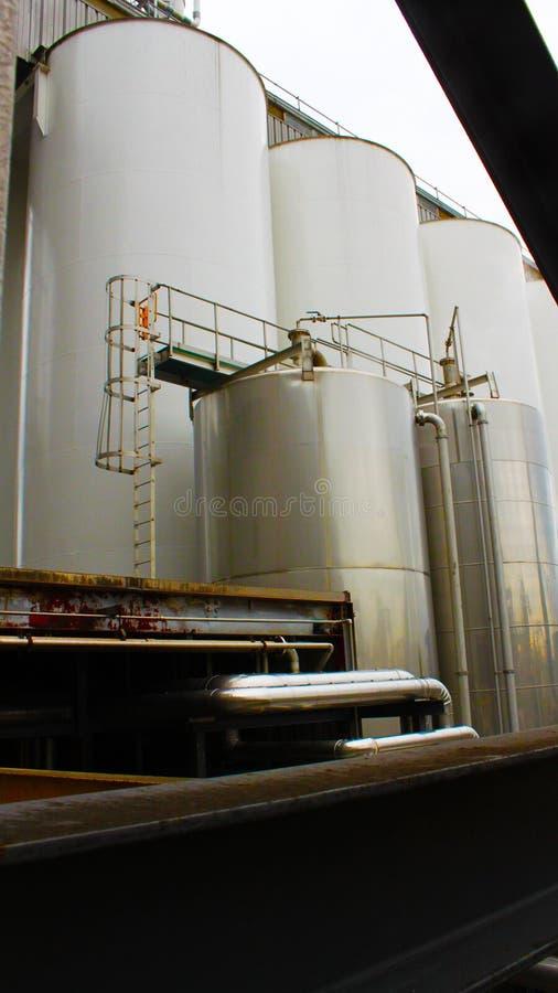 Bier-Brauerei-Betriebs-Prozess Haupt-Control Center lizenzfreie stockfotos