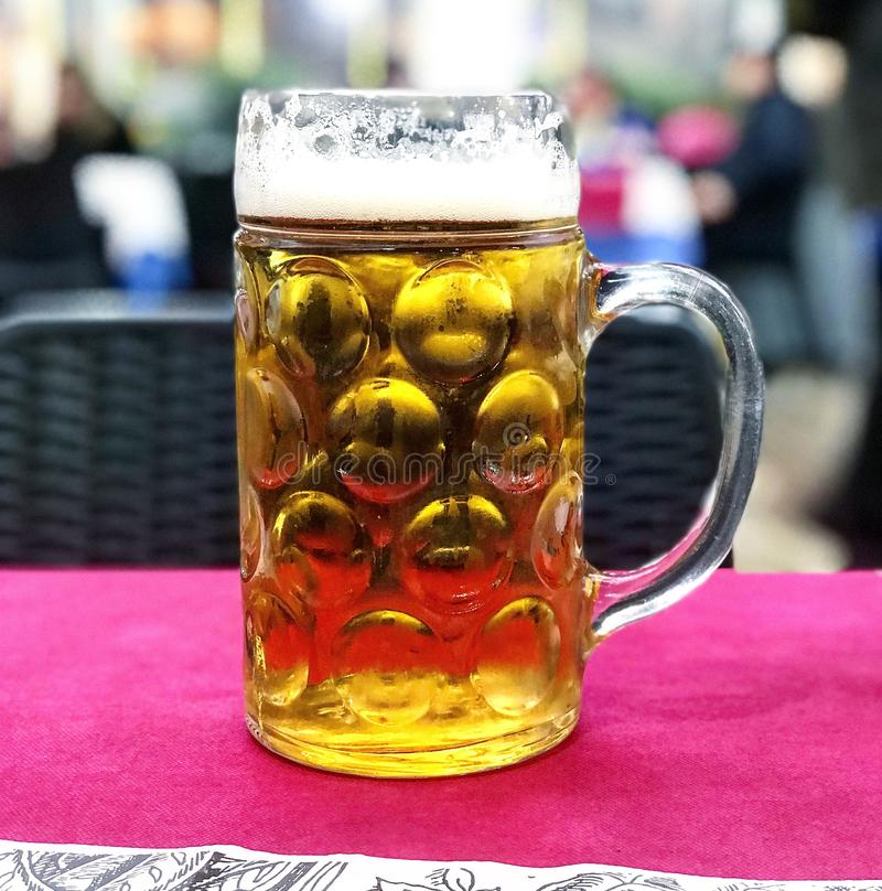 Bier, cervesa, drank stock afbeelding