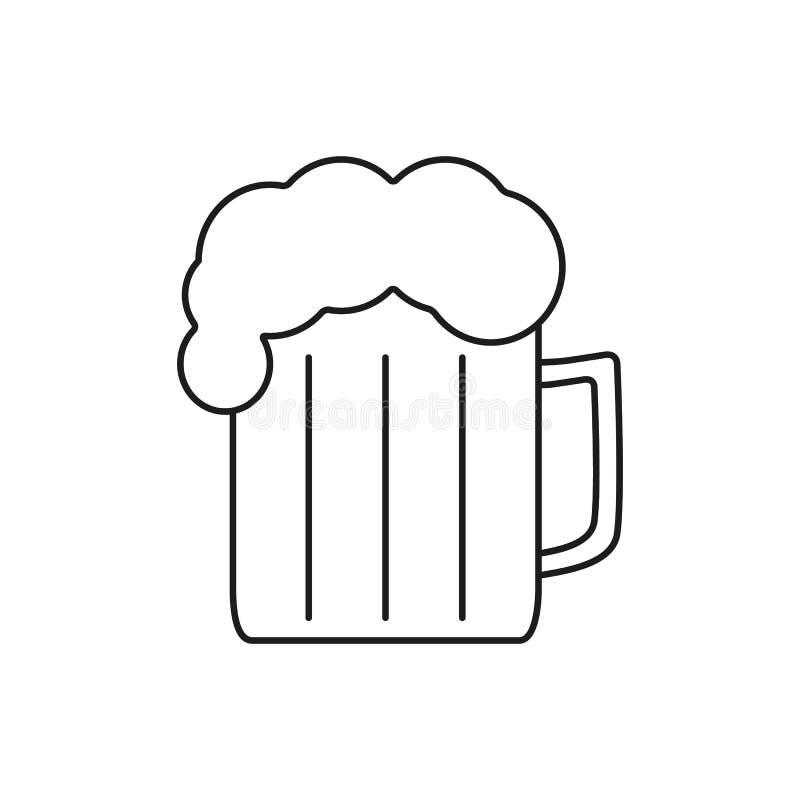 Bier der Ikone stock abbildung