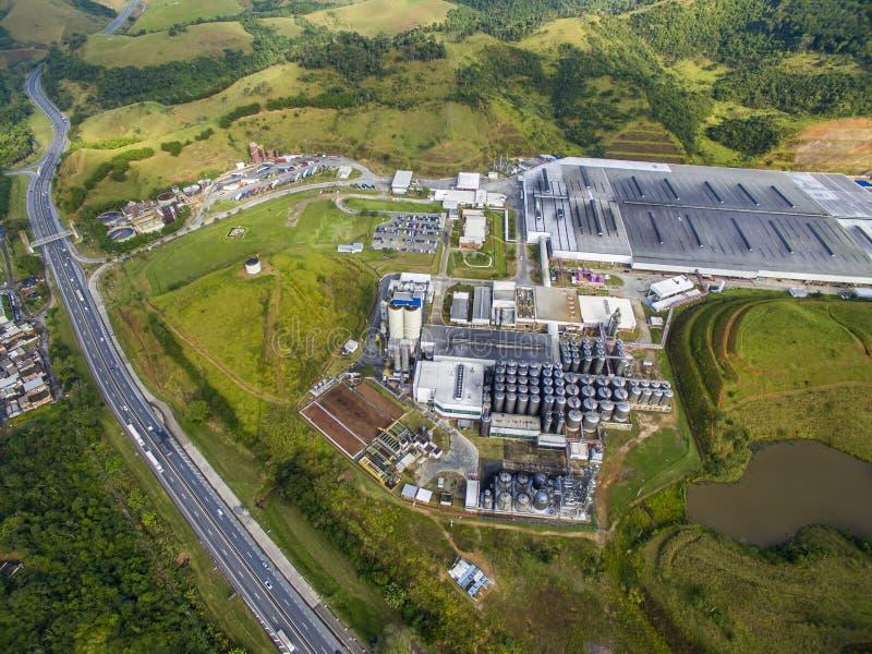 Bier-Industrien der Welt Brauerei AmBev, eine der größten Brauereien in der Welt stockfotos