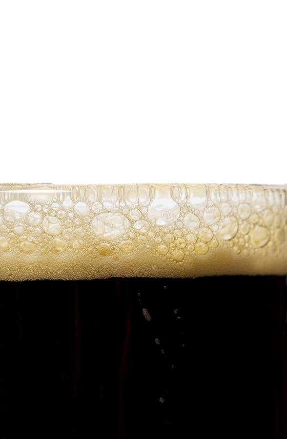 Bier-Luftblasen stockfotografie