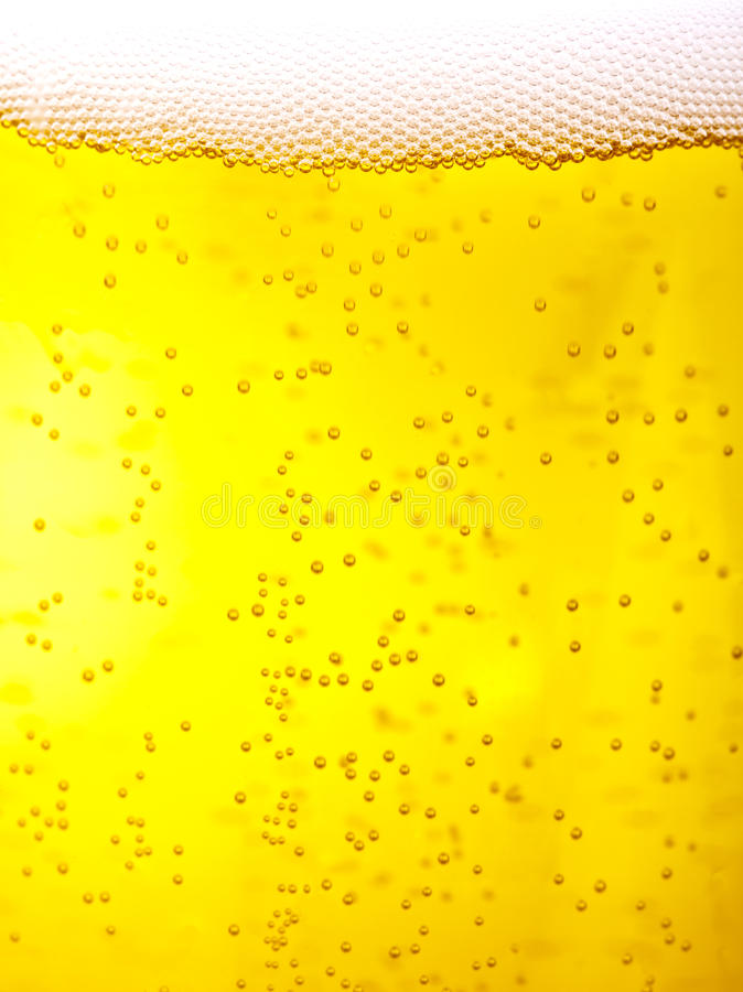 Bier-Makro stockfotos