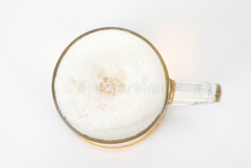 Bier-Schaum lizenzfreies stockbild
