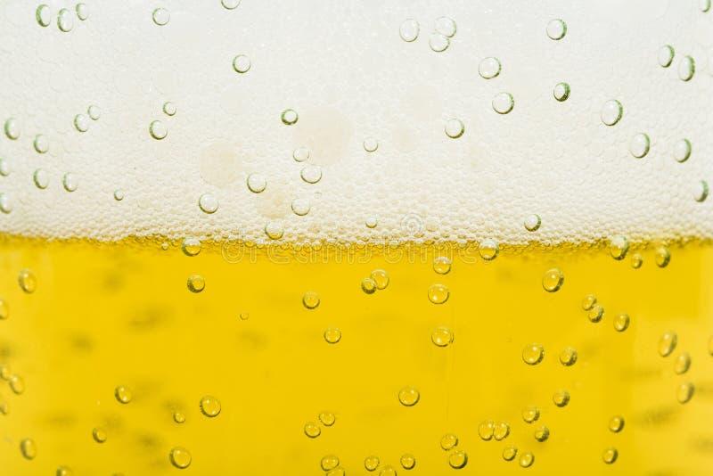 Bier-Schaumgummi lizenzfreie stockbilder