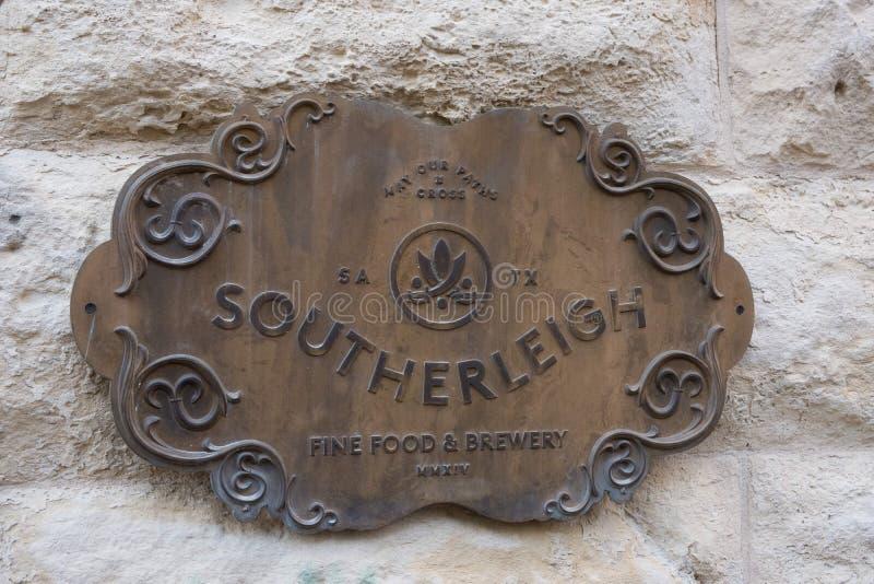Bier Southerleigh Brewing Company lizenzfreies stockbild