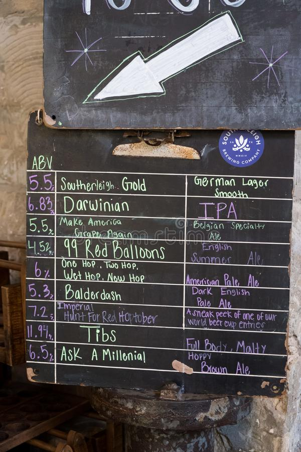 Bier Southerleigh Brewing Company stockfotografie