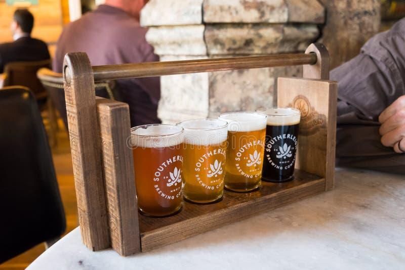 Bier Southerleigh Brewing Company lizenzfreie stockfotografie