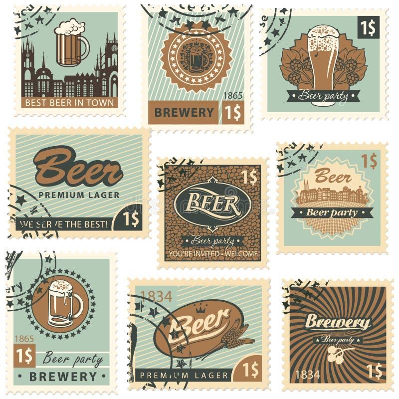 Bier und Brauerei vektor abbildung