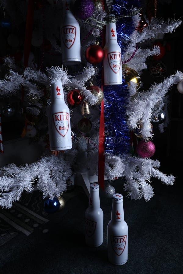 Bier Weihnachtsbaum.Bier Und Weihnachtsbaum Kitz Redaktionelles Stockfoto Bild Von