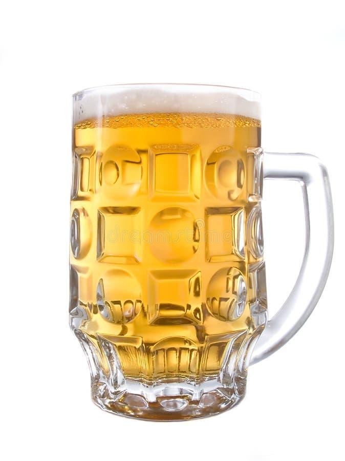 Bierbecher lizenzfreies stockbild