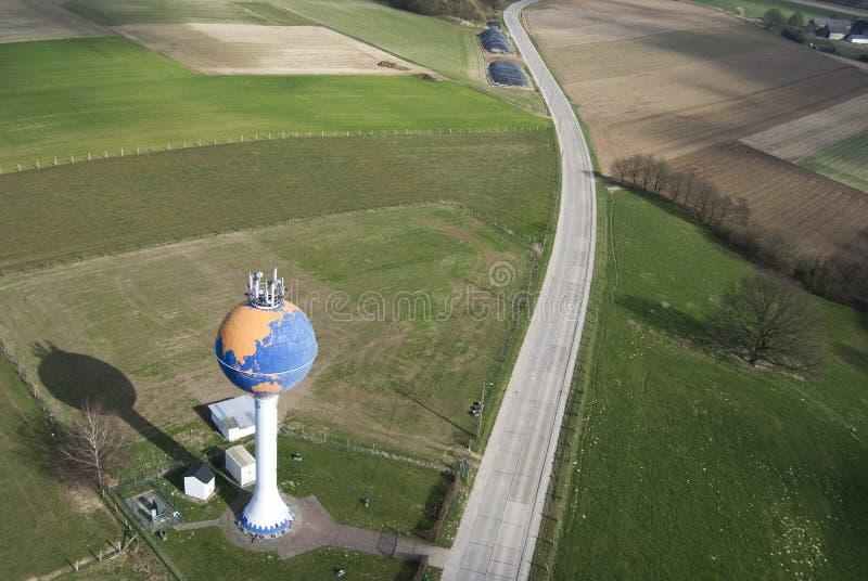 Bierbeek Watertower stockbilder